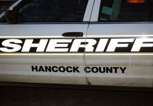 Hancock County Sheriff's Log: Man arrested after allegedly pulling knife on workers