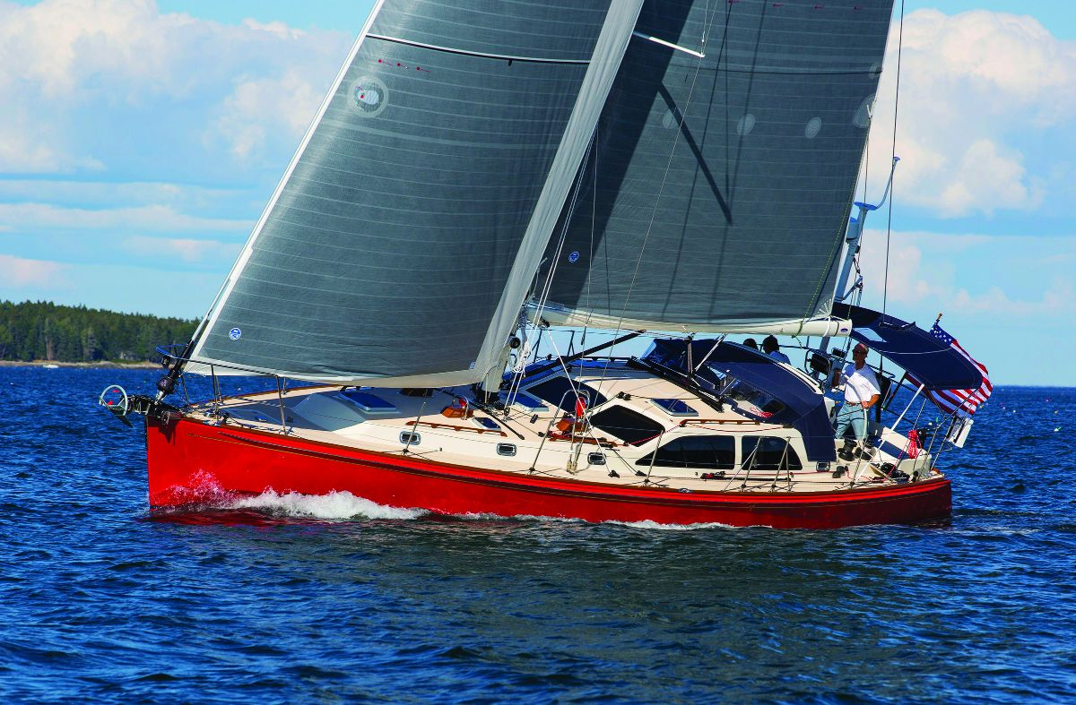 Morris Yachts 48gt Wins Innovation Award The Ellsworth Americanthe Yacht Wiring Diagrams Scarlett Bee First Ocean Series 48 Gt Won 2015 Sail