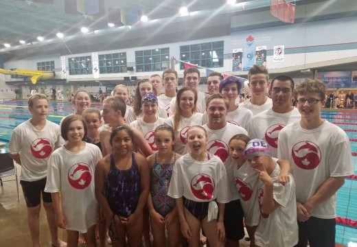DEFY swimmers break four state records