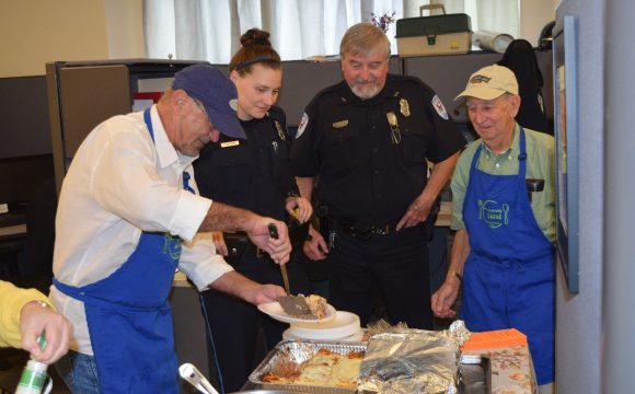 Feeding the first responders
