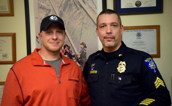 Bucksport sergeant helps best friend kick drugs