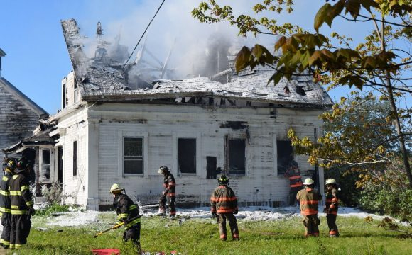Updated: Victim in Sunday-morning fire in Surry identified