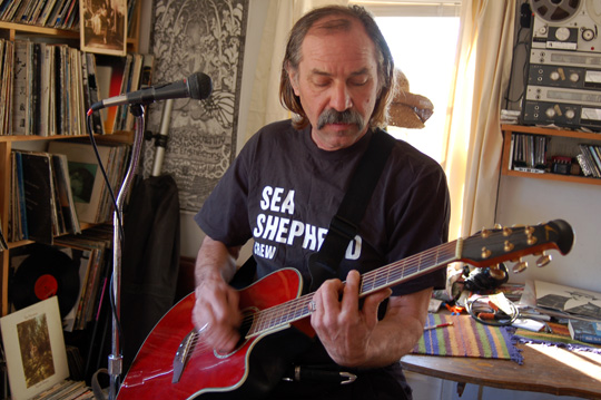 Marine Activist Highlights Issues Through Music