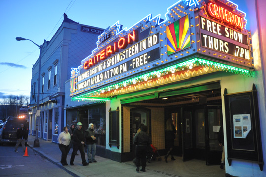 Theater Debuts New Marquee