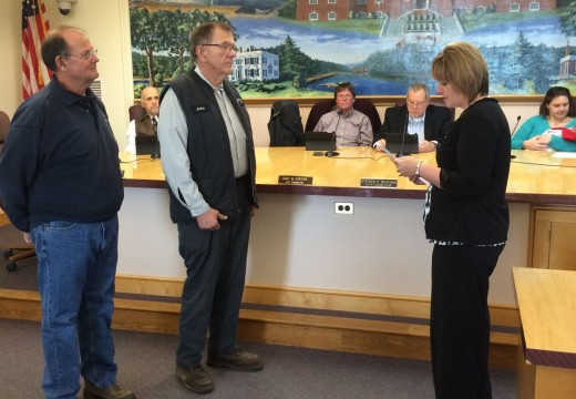 Council elects Crosthwaite chairman, incumbents sworn-in