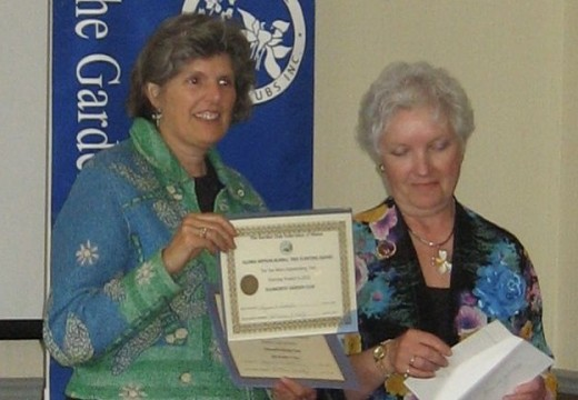 Ellsworth Garden Club wins awards at state convention