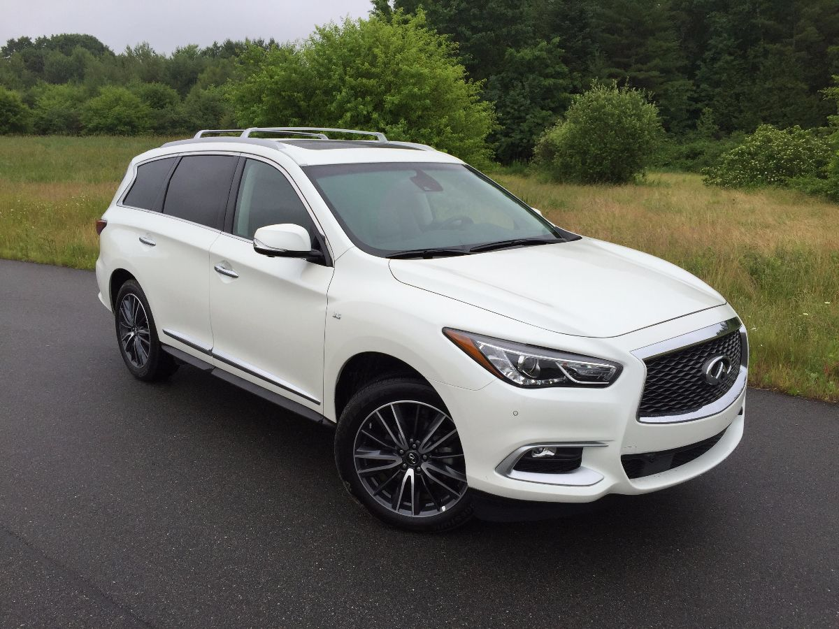 On The Road Review Infiniti Qx60 Luxury Crossover