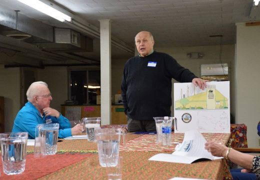 Volunteer group discusses plans to build S.S. Roosevelt museum