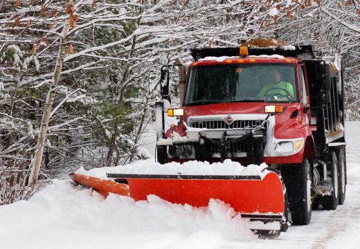 """Plowing snow, a battle with """"mad Mother Nature"""""""
