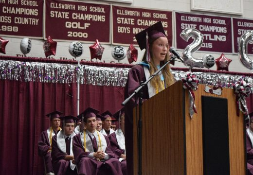 King offers words of wisdom to EHS grads