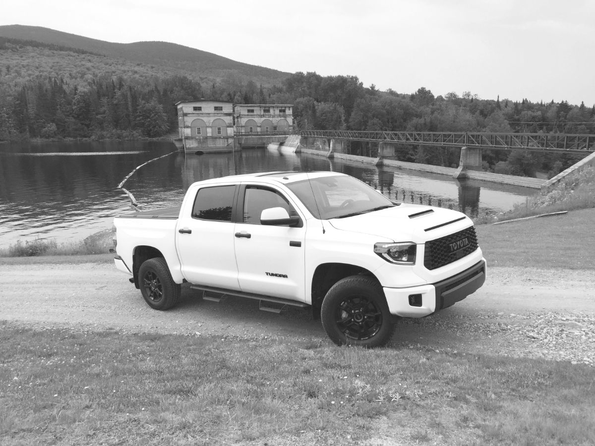 On The Road Review Toyota Tundra Trd Pro Crew Cab The Ellsworth Americanthe Ellsworth American