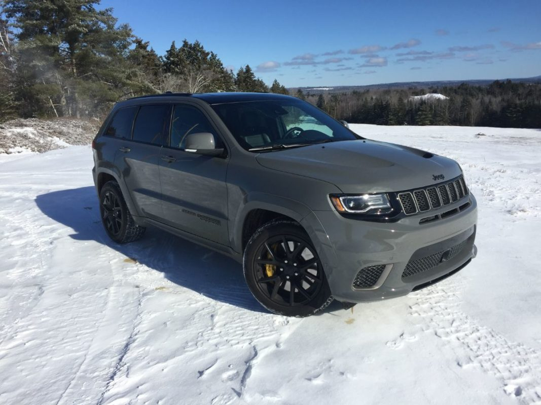 On The Road Review Jeep Grand Cherokee Trackhawk The Ellsworth Americanthe Ellsworth American