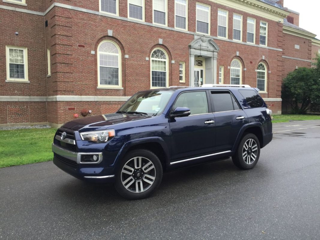 On The Road Review Toyota 4runner Limited The Ellsworth Americanthe Ellsworth American