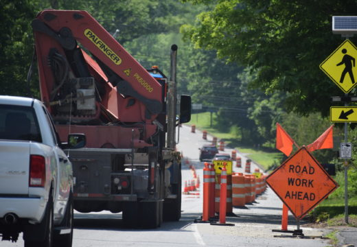 Blue Hill roadwork expected to cause delays
