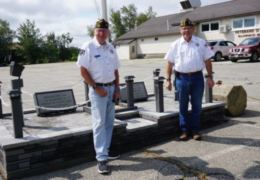 New VFW flagpole base a labor of love